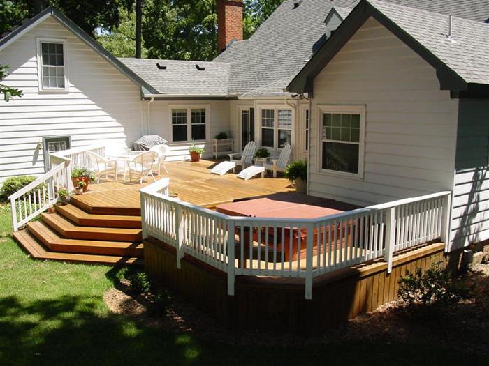 Visit Our Custom Wood Deck Design Galleries