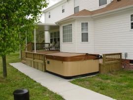 Composite Deck Construction