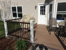 Custom composite decks Virginia Beach