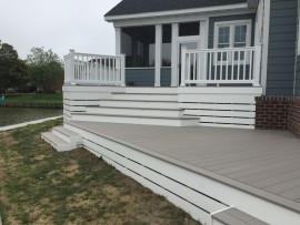 Custom composite decks Virginia
