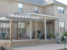 Screened Porch installation in Portsmouth