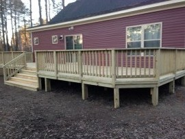 Weather Resistant Wood Decks Va Beach
