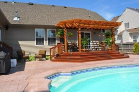 Wood Deck Design , Construction Chesapeake, VA