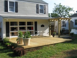 Pressure Treated Wood Deck Builders Hampton Roads, VA